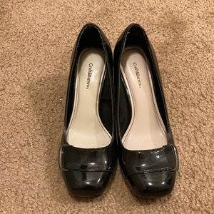 Croft&Barrow size 6 black 2 inch heel
